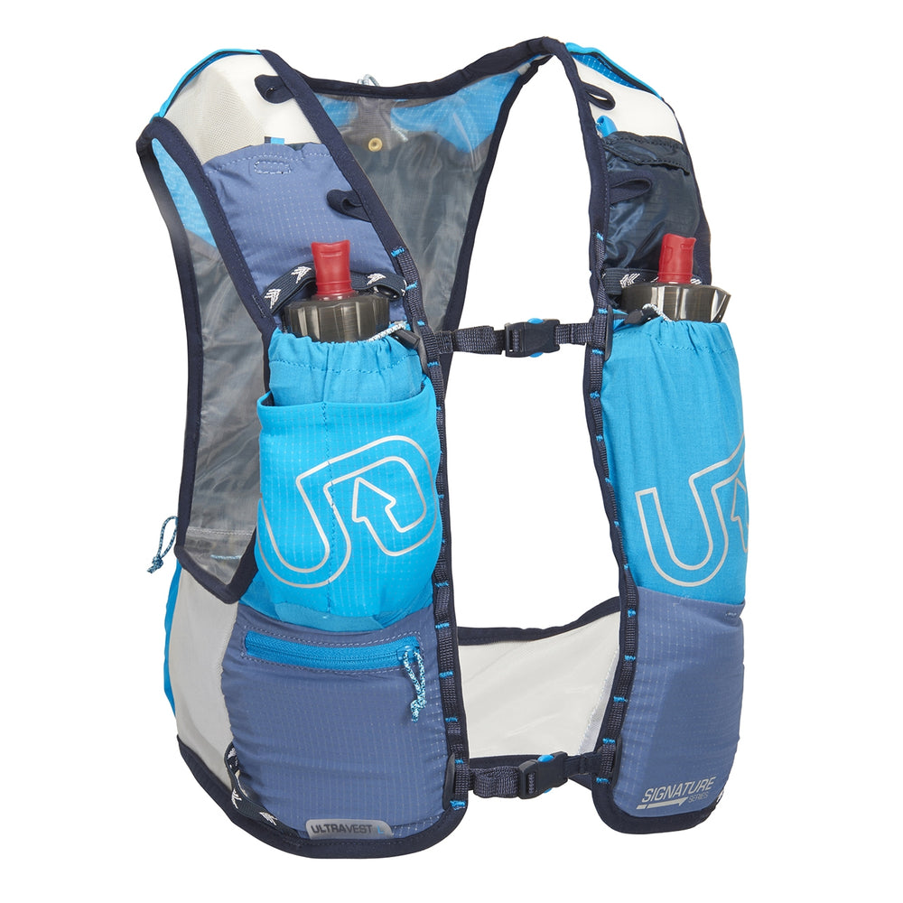 Ultimate Direction Ultra Vest 4.0 Silver / Grey / Blue - achilles heel