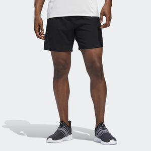 Adidas Men's Supernova Saturday 5 Inch Short Black - achilles heel