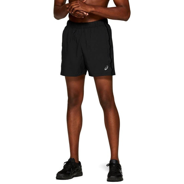 Asics Men's 5 Inch Shorts Black - achilles heel