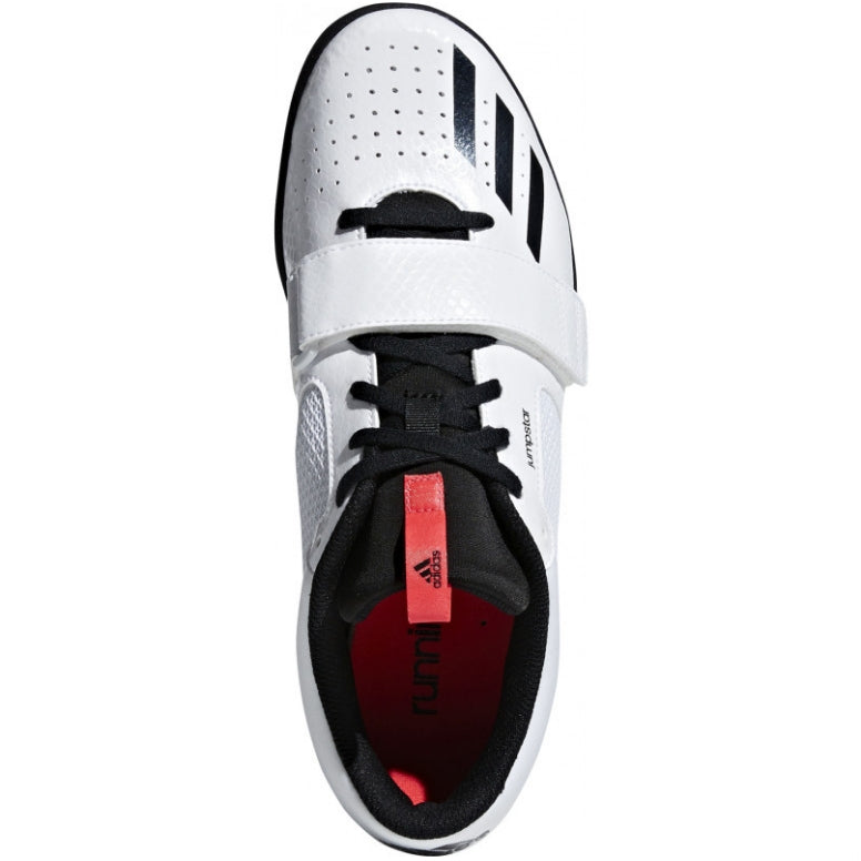 adidas Jumpstar Field Shoes Black / Red - achilles heel