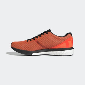 adidas Men's adiZero Boston 8 Running Shoes Solar Red / Core Black / Cloud White - achilles heel