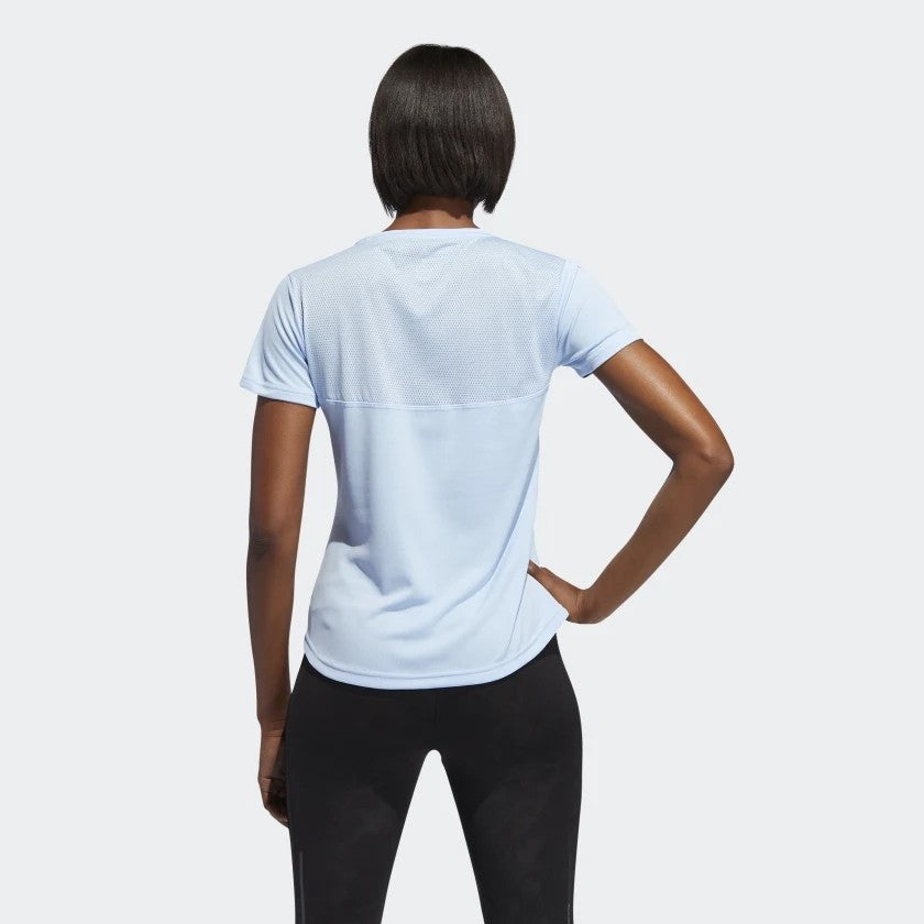 adidas Women's Own The Run Tee Blue