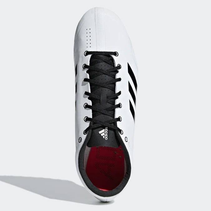 adidas Adizero Prime SP Running Spikes White / Black /  Red - achilles heel
