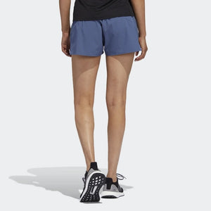 adidas Women's Saturday 4 Inch Short Ink - achilles heel
