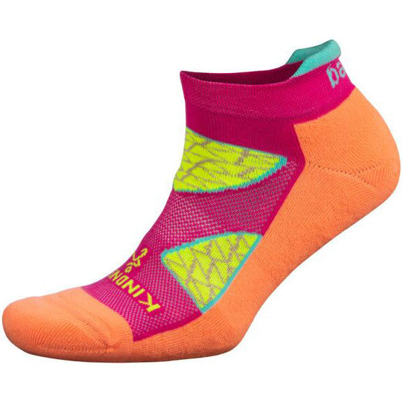 Balega Kindness Wins Enduro No Show Running Socks Peach / Electric Pink
