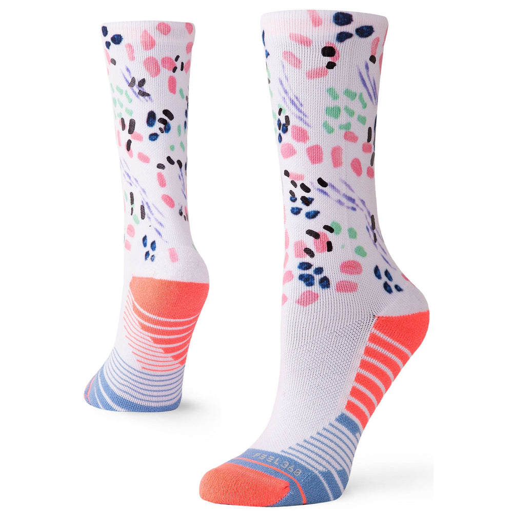 Stance Women's Chipper Crew Training Socks - Pink