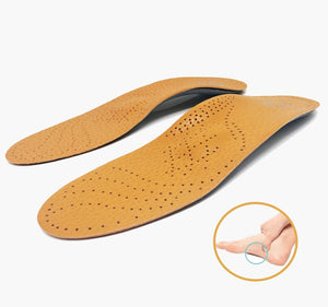Leather Orthotics Insole - LoveCuteStyle