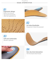 Load image into Gallery viewer, Leather Orthotics Insole - LoveCuteStyle