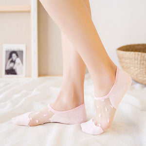 Invisible Cotton Socks Luxury Collections - LoveCuteStyle