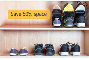 Shoes Organizer Optimise Storage Space Rack - LoveCuteStyle