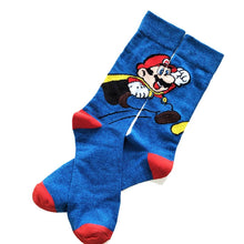 Load image into Gallery viewer, Super Mario Retro Game Socks - LoveCuteStyle