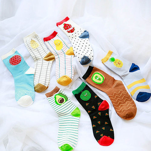 Fruit Lovely Socks - LoveCuteStyle