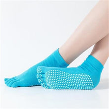 Load image into Gallery viewer, Women Yoga Non-slip Socks Five Fingers - LoveCuteStyle