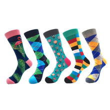 Load image into Gallery viewer, Quality Men Socks 5pairs - LoveCuteStyle
