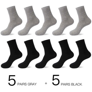 Business Men Socks 10 Pairs / Lot - LoveCuteStyle