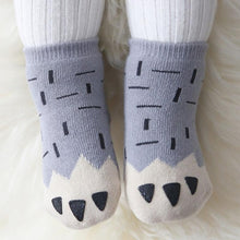 Load image into Gallery viewer, Cute Funny Print Baby Cotton Socks Anti-Slip - LoveCuteStyle
