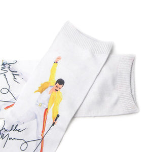 Freddie Mercury Socks - LoveCuteStyle