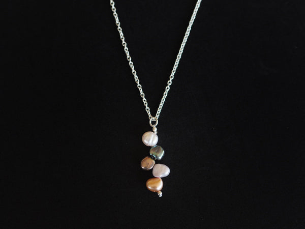 Pearl - South Sea pearls pendant necklace