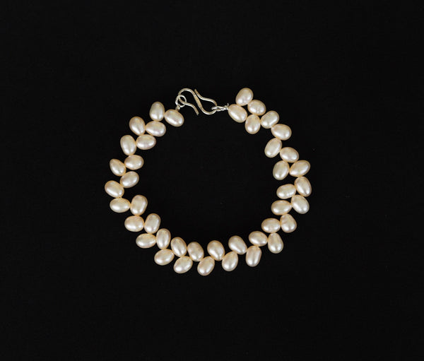 Pearl - Rose pearls necklace