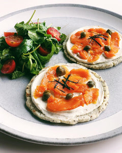 Smoked Carrot Lox Super Toast