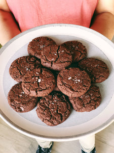 Double Chocolate Sea Salt Cookie