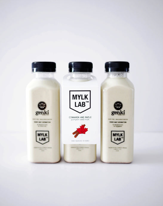 Cinnamon & Maple Pumpkin Seed Mylk