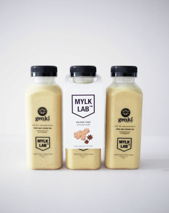 Golden Chai Almond Mylk