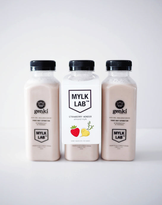 Strawberry Wonder Almond Mylk
