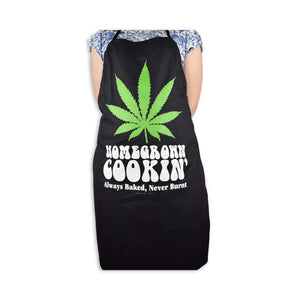 Chef Apron by Stonerware - Homegrown Cookin' - Always Baked, Never Burnt