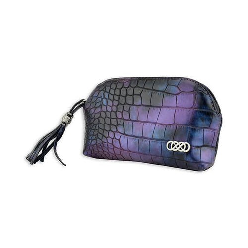 Erbanna River Smell Proof Carry Bag - Purple Croc