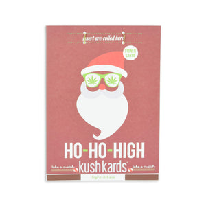 KushKards 'Ho-Ho-High' Just Add A Pre-roll Christmas Greeting Card