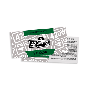 420Way.ca Gift Card - $10, $25, $50 or $100