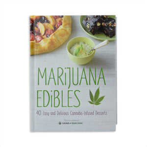 Marijuana Edibles - 40 Easy and Delicious Cannabis-Infused Desserts by Lorie Wolf and Mary Thigpen