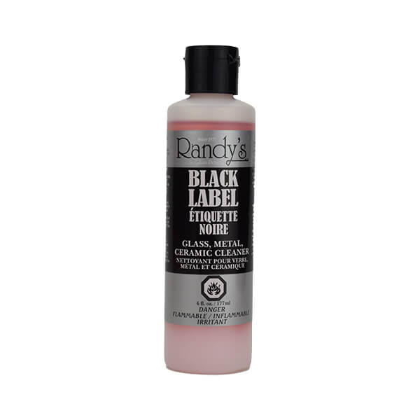 Randy's Black Label Glass, Metal and Ceramic Cleaner - 6oz (177ml)