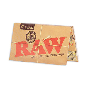 Raw Classic Single Wide Rolling Papers - 100 pack