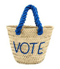 Mini Vote Tote Bag by POOLSIDE