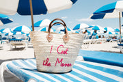 CUSTOM MEDIUM BEACH TOTE BAG