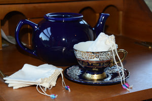 Eco Friendly Tea Bags, 100% Muslin, Made in USA