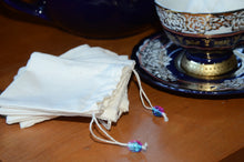 Load image into Gallery viewer, Eco Friendly Tea Bags, 100% Muslin, Made in USA