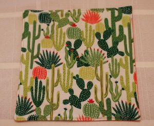 Paperless Towels-Unpaper Towels-Cactus Themed Towels