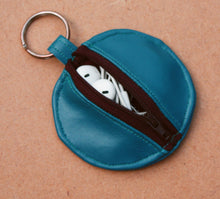 Load image into Gallery viewer, Faux Leather Earbud Pouch