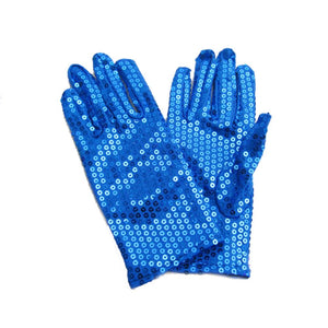 Michael Jackson Performance Hip-Hop Gloves Sequined Punk Style Unisex Gloves