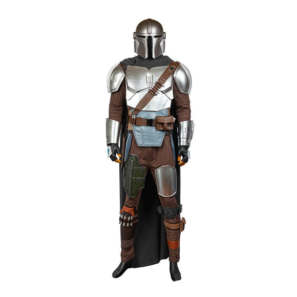 The Mandalorian Din Djarin Beskar Steel Armor Without Helmet ( Pre-order ), Costumes- Pro Cosplay Shop Customer Service in Xcoser - Costume - Helmets