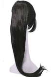 Halloween Elektra wig Daredevil Cosplay Costume Black Long Straight Hair Accessories - Xcoser Costume