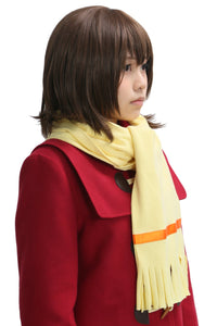 Boku Dake ga Inai Machi Kayo Hinazuki Cosplay Costume Red Coat Skirt Adult Custom Made