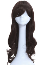 Carmen Sandiego Wig Cosplay Costume Black Long Curly Hair Accessories