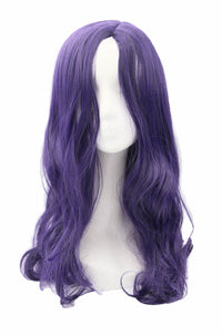 Moira Mactaggert Wig X-Men: Apocalypse Cosplay Pre-styled Purple Wave Wig Hair Costume Accessories