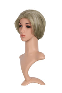 Xcoser Hillary Costume Wig Womens Short Bob Hair Accessory For Party