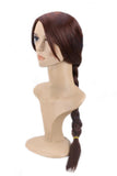 Tomb Raider Lara Croft Wig Brown Long Braided Hair Lara Croft Cosplay Props
