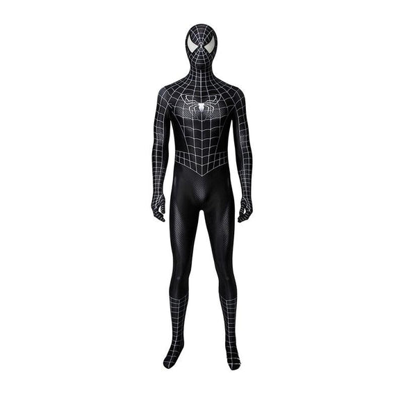 Xcoser Spider-Man 3 Venom Blackened Spider-Man Cosplay Costume